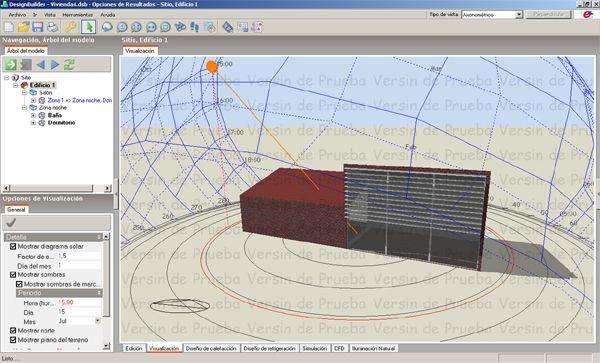 Programa simulación Design Builder