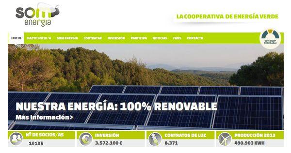 Web de Som Energía
