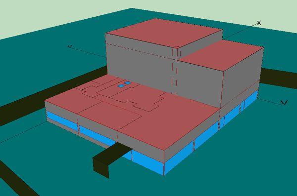 Modelo energético de Lider del edificio para una sala de teatro