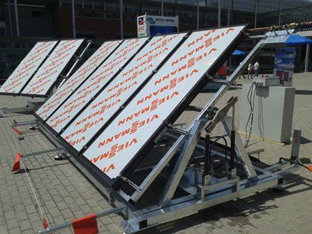 Seguidor para colectores solares