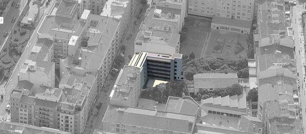 Foto aérea del concurso de Logroño
